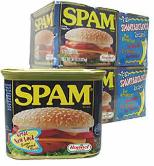 SPAMは好きなんだけど、、、