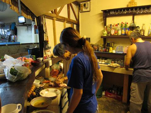 タイ チャン島 ふみすけタイ料理を修業する