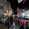与論 商店街の祭