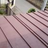 実家の屋根ペンキ塗り